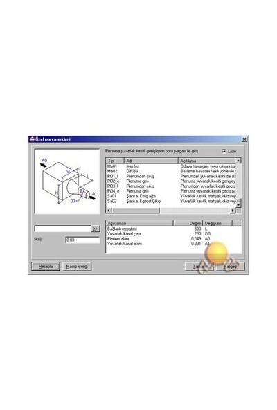 Mth Mekanik Tesisat Hesapları Isı Kaybı Pro Paketi