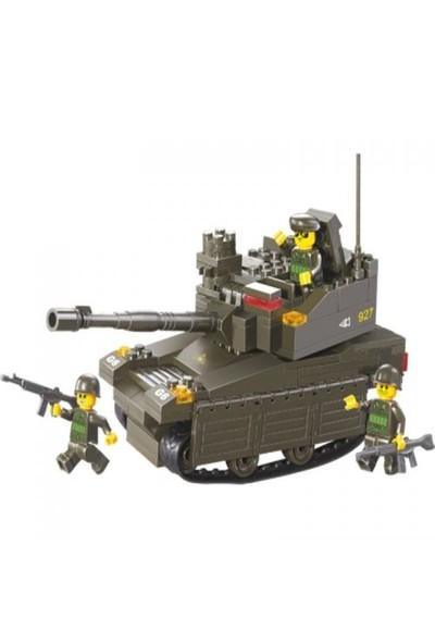 Sluban Yapboz Blok 217 Parça Ac Leopard-2A6m Tank
