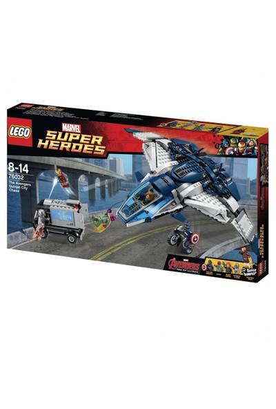 Lego Super Heroes Yenilmezler Jeti Şehir Takibi