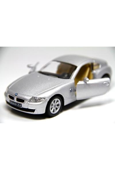 Kinsmart Bmw Z4 Coupe (Gri) 1:32 Çek Bırak Araba