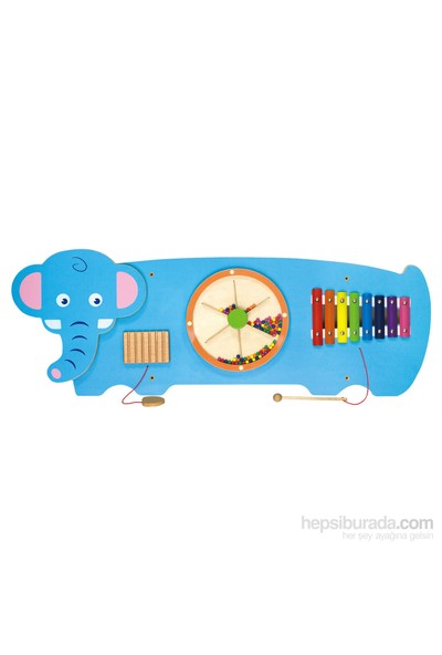 Vıga Toys Duvar Oyunu - Fil