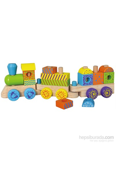 Vıga Toys Tren Blok