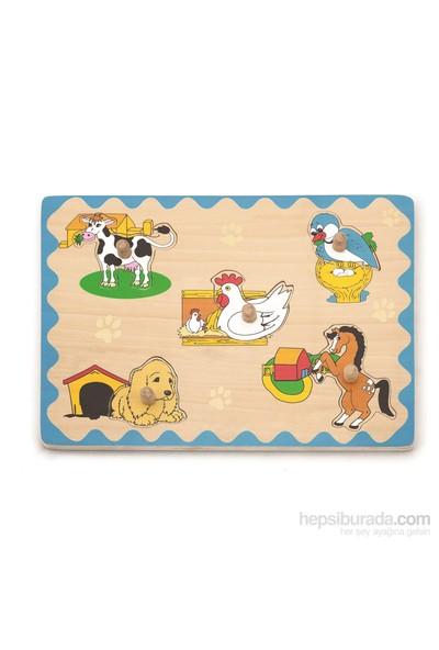 Vıga Toys Hayvanlar Nerede Yaşar Puzzle