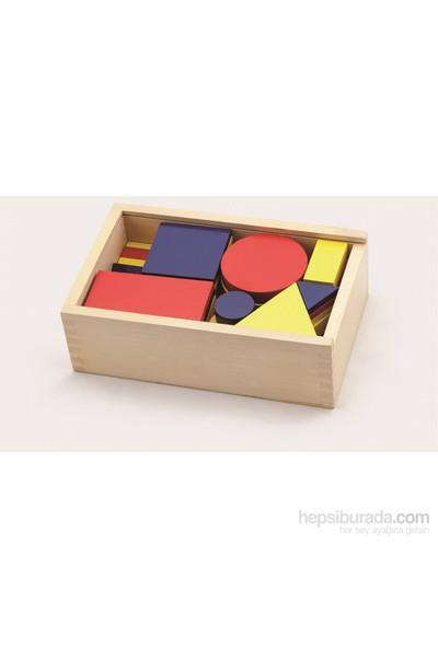 Vıga Toys Geometrik Bloklar - 48 Parça