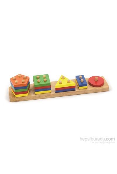Vıga Toys Geometrik Şekiller