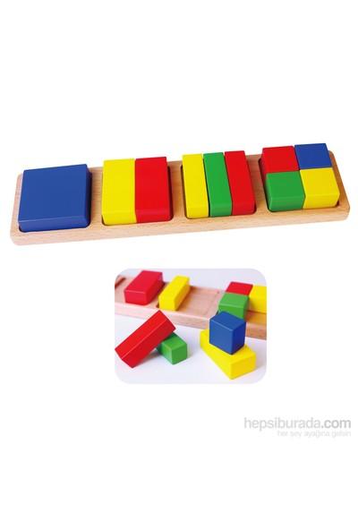 Vıga Toys Parça Bütün - Kare