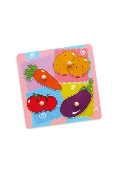 Vıga Toys Sebzeler Puzzle