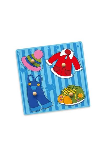 Vıga Toys Giysiler Puzzle
