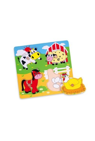 Vıga Toys Çiftlik Hayvanları Puzzle