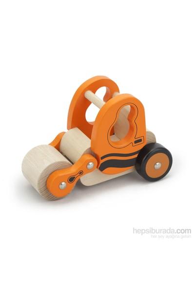 Vıga Toys Ahşap Silindir Araba
