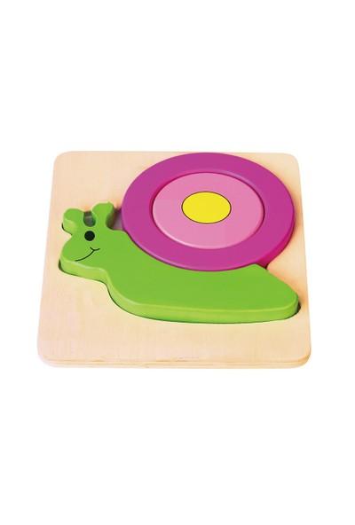 Vıga Toys 2D Salyangoz Puzzle