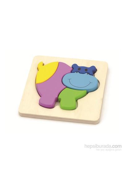 Vıga Toys 2D Su Aygırı Puzzle