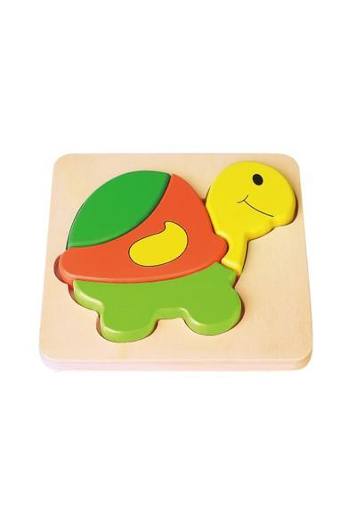 Vıga Toys 2D Kaplumbağa Puzzle