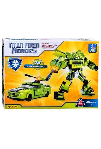 Ausini Dönüşebilen Robot Araba Lego Seti 344 Parça