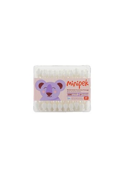 Minipek Baby Bebek Kulak Temizleme Çubuğu
