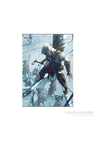 Assassin's Creed Iıı Wall Scroll Vol. 2 Rulo Duvar Afişi