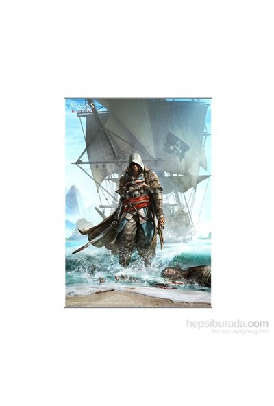 Assassin's Creed Iv Black Flag Wall Scroll Vol. 1 Rulo Duvar Afişi
