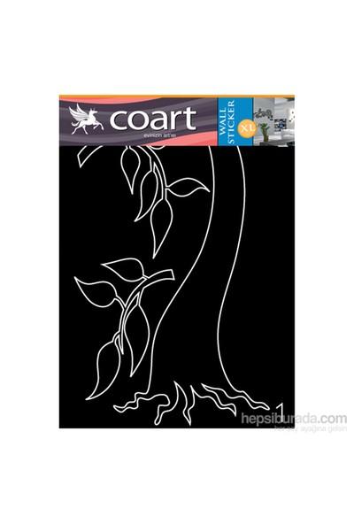 Zeytin Ağacı Kadife Duvar Sticker 138X83 Cm