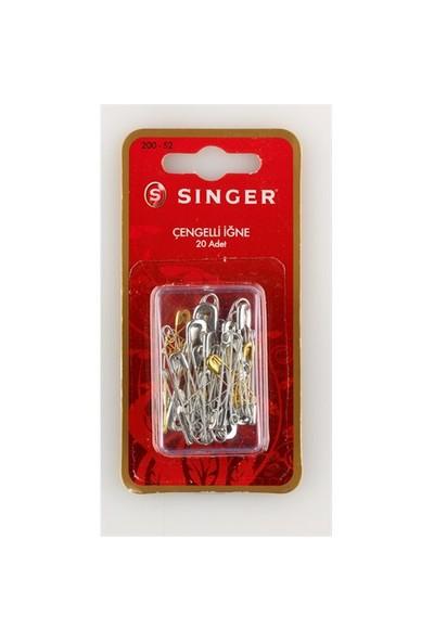 Singer 200-52 Çengelli İğne (20 adet)