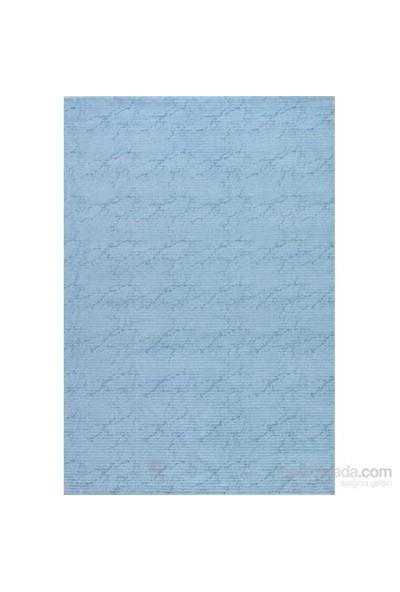 Patika Halı Sade 7200A Mavi Halı 120x180 cm