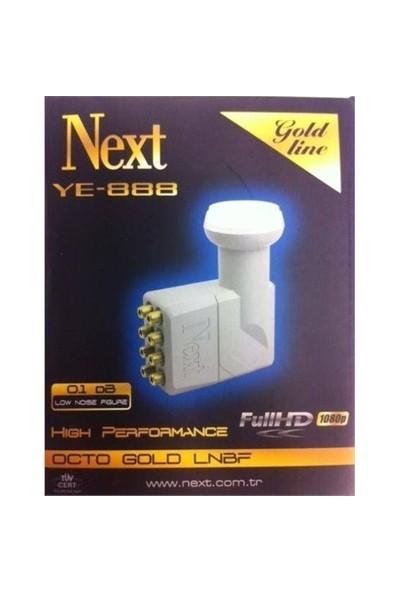 Next Ye-888 0,3Db Octo 8Çıkışlı Lnb