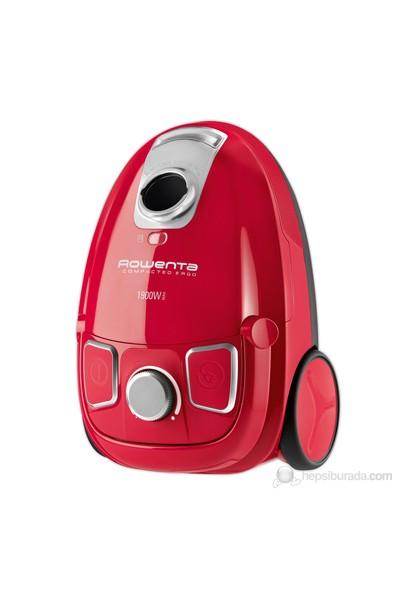 Rowenta RO5243 Compacteo Ergo Toz Torbalı 1900W Kırmızı