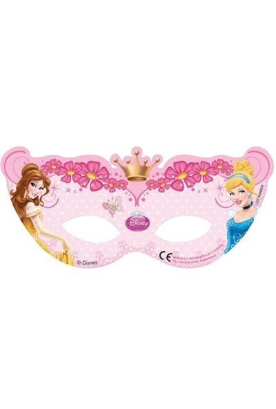 Pandoli Prenses Glamour Maske 6 Lı
