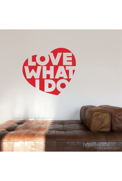 I Love My Wall Konuşan Duvarlar (Kd-307) Sticker