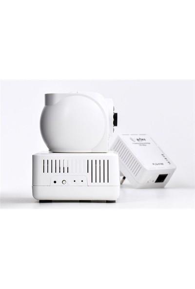 Artes PCQ-500C Elektrik Hattından Tak Çalıştır IP Kamera