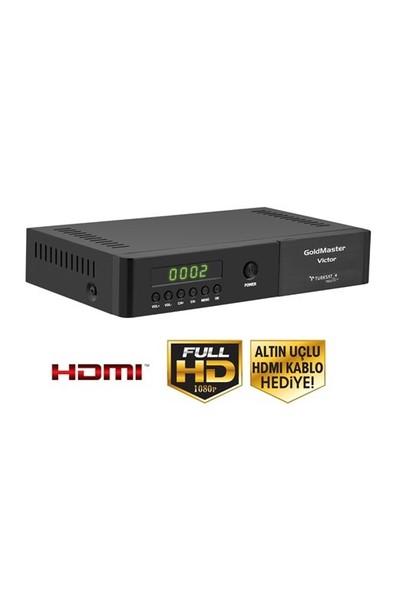 Goldmaster VİCTOR HD PVR Dijital Uydu Alıcısı
