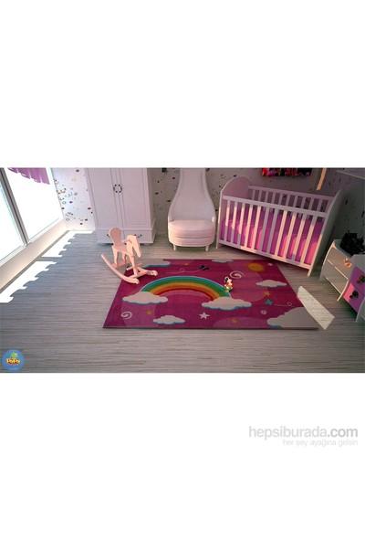 Poypoy Masal Gökkuşağı Çocuk Halısı 100x160 cm