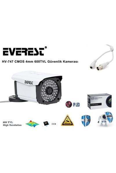 Everest Hv-747 Cmos 4Mm 600Tvl Güvenlik Kamerası