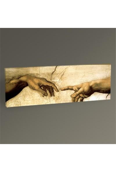 Tablo 360 Michelangelo Buonarroti Yaratılış Tablo 120X40