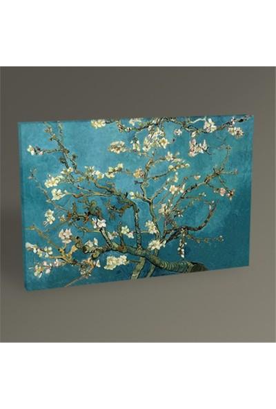 Tablo 360 Vincent Van Gogh-Badem Dalları Tablo 60X40