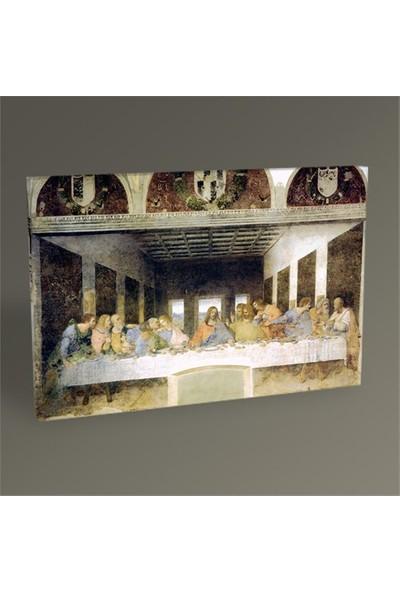 Tablo 360 Leonardo Da Vinci Son Akşam Yemeği Tablo 75X50