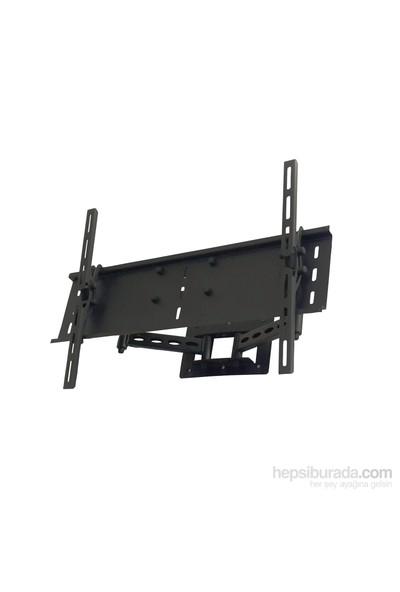 "Plus Aparat HA-3275 32""-75"" LCD-LED Hareketli Askı Aparatı + Su Terazisi + 1,5m Hdmi Kablo"