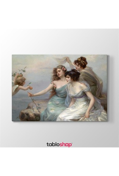 Tabloshop Edouard Bisson - Three Graces Tablosu