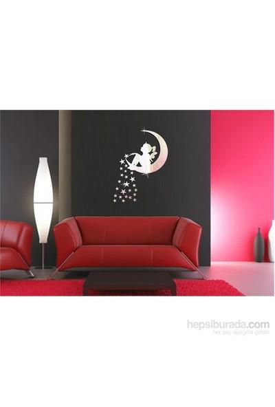Ay Yıldız Peri Dekoratif Ayna