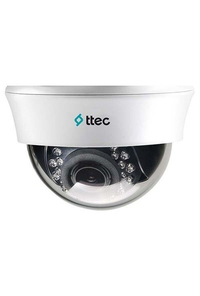 Ttec Cam-Idm1010v Analog Dome Hd 1.0 Mp 2.8-12 Mm