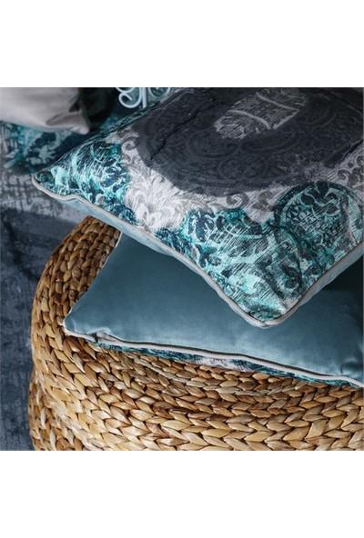 Merlina Home Klasik Desen Kadife Yastık