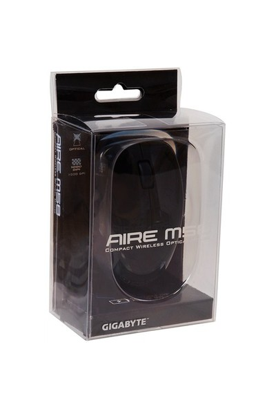 Gigabyte Aire M58 2.4GHz Optik Kablosuz Mouse - Siyah