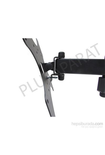 """Plus Aparat HA-1732 17""""-32"""" LCD-LED Hareketli Askı Aparatı + Su Terazisi Hediyeli"""