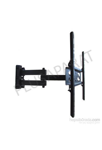 """Plus Aparat HA-3255 32""""-55"""" LED Hareketli Askı Aparatı + Mini Su Terazisi ( CURVED TV UYUMLU)"""