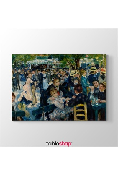 Tabloshop Auguste Renoir - Dance At Le Moulin Tablosu