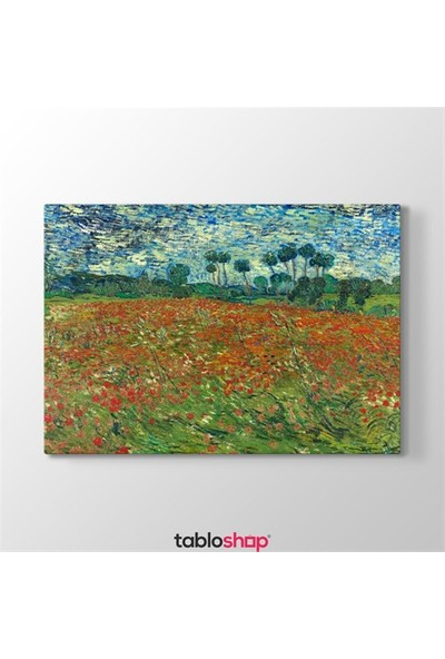 Tabloshop Van Gogh - Poppy Field Tablosu