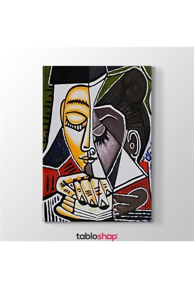 Tabloshop Pablo Picasso - Tete Dune Femme Tablosu