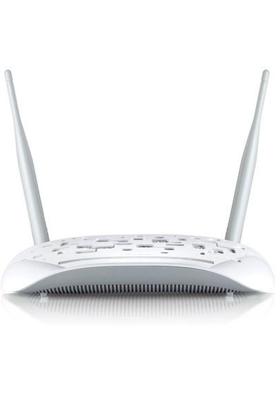 TP-LINK TD-W8961N 300 Mbps Modem Router + TP-LINK TL-WA850RE 300Mbps Kablosuz N Menzil Genişleticisi