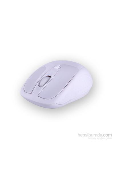 Flaxes FLX-909WSB Kablosuz Mouse - Beyaz