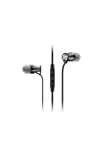 Sennheiser Momentum In Ear Android Uyumlu Siyah-Krom Kulakiçi Kulaklık