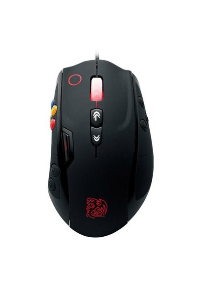 Thermaltake Tt eSPORTS Volos Siyah Oyuncu Mouse (TTS-MO-VLS-WDLOBK-01)
